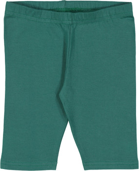 Fitted Short Leggings- Bottle Green