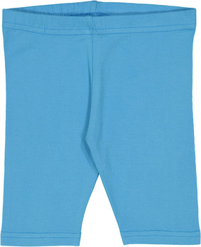 Fitted Short Leggings- Horizon Blue