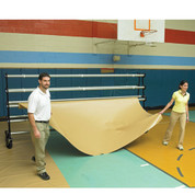 Deluxe Gym Floor Covers 32 oz. Tan/Brown