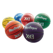 Men's MacGregor Official Size Multicolor Basketball Prism Pack
