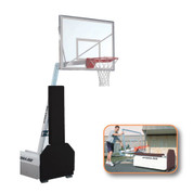 Spalding Fastbreak 940 Portable and Adjustable Height Indoor Baskeball System