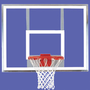Bison Unbreakable Polycarbonate Rectangle Clear Basketball Backboard