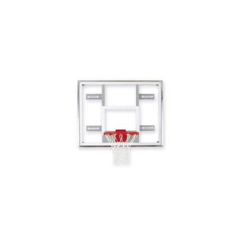 Bison Side Court Conversion Glass Basketball Backboard