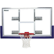 Bison Short Unbreakable Glass Fan to Rectangle Conversion Basketball Backboard