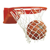 Bison Elite Breakaway Basketball Rim with Net and Official Goal
