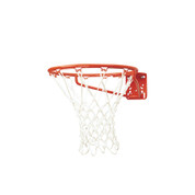 MacGregor Front Mount Economy Indoor and Outdoor Basketball Goal with Net and Rim