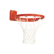 Bison Rear Mount Double Rim Basketball Goal for Outdoor Use
