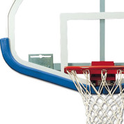 Black Bison DuraSkin Fan-Shaped Basketball Backboard Safety Padding