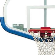 Grey Bison DuraSkin Fan-Shaped Basketball Backboard Safety Padding