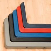 Gray Saf-Guard Cushion Edge Basketball Backboard Padding for Safety
