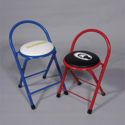 Padded Custom Color and Design Folding Locker Stool