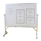 Basketball Roll-A-Way Playmaker Dry Erase and Magnetic Board