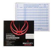 Official 30 Game Spiral Basketball Scorebook
