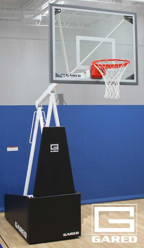 Gared Sports Hoopmaster R54 Recreational Portable Basketball Goal