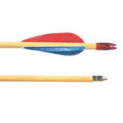 Select Poplar Shaft Wooden Arrow - Pack of 144