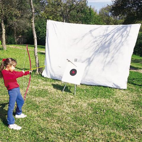 Pre-cut Indoor/Outdoor Archery Fine Mesh Netting - 16ft x 10ft