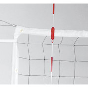 Power Volleyball All Weather Indoor Outdoor Net with Steel Cable & Metal Dowels