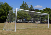 Regulation Soccer Goal Aluminum-Official Size by Stackhouse