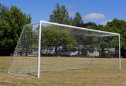 Regulation Soccer Goal Aluminum-Official Size by Stackhouse
