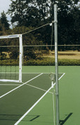 "Outdoor Galvanized Steel Volleyball System/Set - 2 3/8"" by Stackhouse"