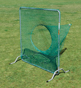 Baseball or Softball Target Sock Net Screen for Pitching Drills, Batting Drills, or Football Kicking Net by Stackhouse