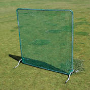 Baseball or Softball Movable Protective Net Screen for Protecting First Base During Infield Practice by Stackhouse