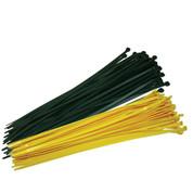 """Fence Crown 19"""" Zip Ties-Yellow 100 per pack"""