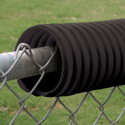 Fence Crown - Black 100'