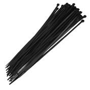 """Fence Crown 19"""" Zip Ties-Black 100 per pack"""