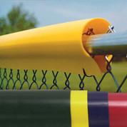 Saf-Top Fence Guard - Blue