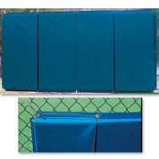 Folding Backstop Padding 3' x 6' - Gray