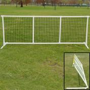 Sportpanel® Fencing - Black Mesh - Standard Footing