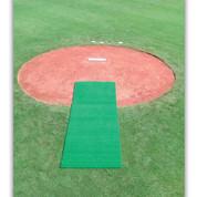 DiamondTurf Pitcher's Mat - Green 4' x 12'