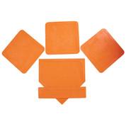 Orange Throw Down Bases-5 Piece