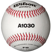 Wilson Practice Baseball - Flat Seam