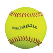 "Unbelieva-BALL 12"" Softball Yellow"