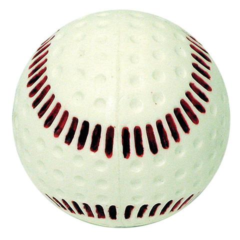 "Baden Seamed Machine Baseball-9"" Wht"