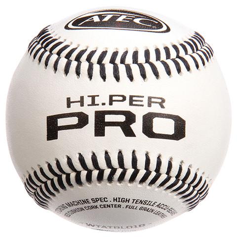 ATEC Hi.PER Pro Leather Machine Baseballs