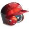 Junior Two-tone Batting Helmet - Scarlet