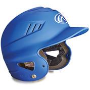 Youth Matte Batting Helmet - Scarlet
