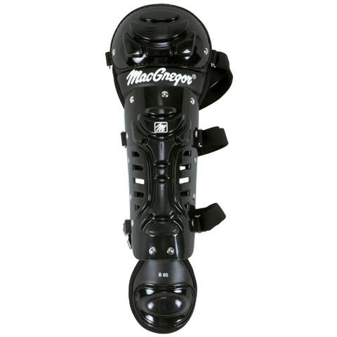 MacGregor B65 Single Knee Yth Leg Guard - Black