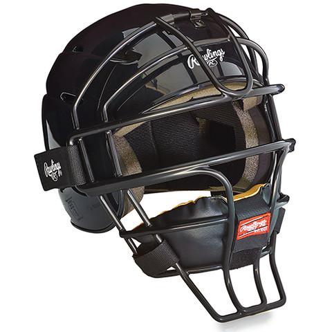 Adjustable Catcher's Helmet - Black