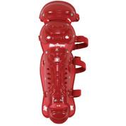 MacGregor B68 Double Knee Jr Leg Guard - Scarlet