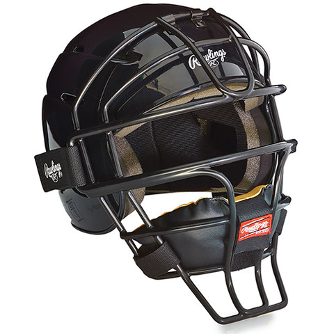 Adjustable Catcher's Helmet - Scarlet