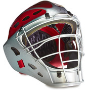 Varsity Two-Tone Catcher's Helmet - Scarlet