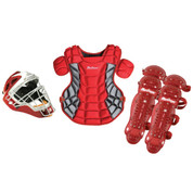 Varsity Fast Pitch Catcher Gear Pack - Black