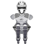 Rawlings Velo Catcher's Set Wht/Silver (Age12+)