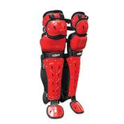 "Scorpion Triple Knee LG 16"" - Bk/Scarlet"