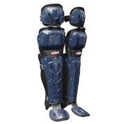"Scorpion Double Knee LG 14"" - Bk/Maroon"