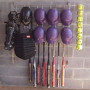 Dugout Organizer Rack - Baseball